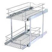 Double-Tier Wire Multi-Use Basket - 11