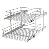 Double-Tier Wire Multi-Use Basket - 17