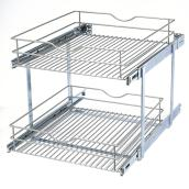 Double-Tier Wire Multi-Use Basket - 20