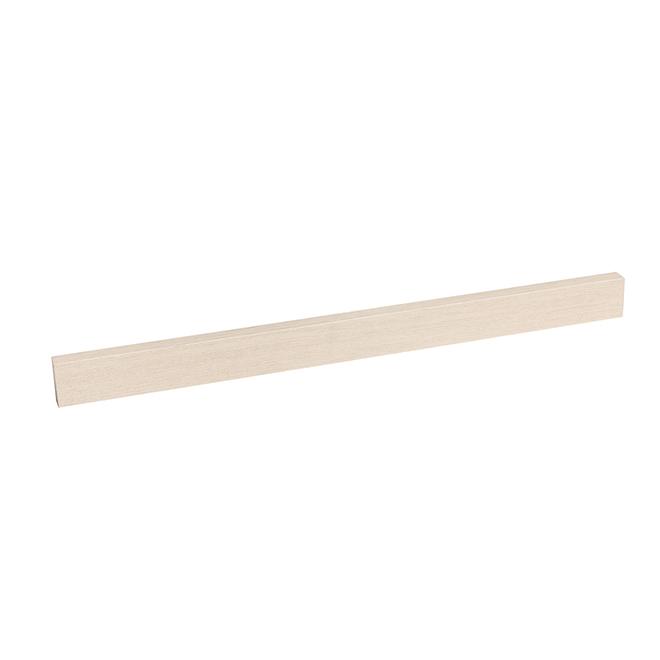 "Decorative Wood Fascia - 23"" x 2.5"" x 0.75"" - White Oak"