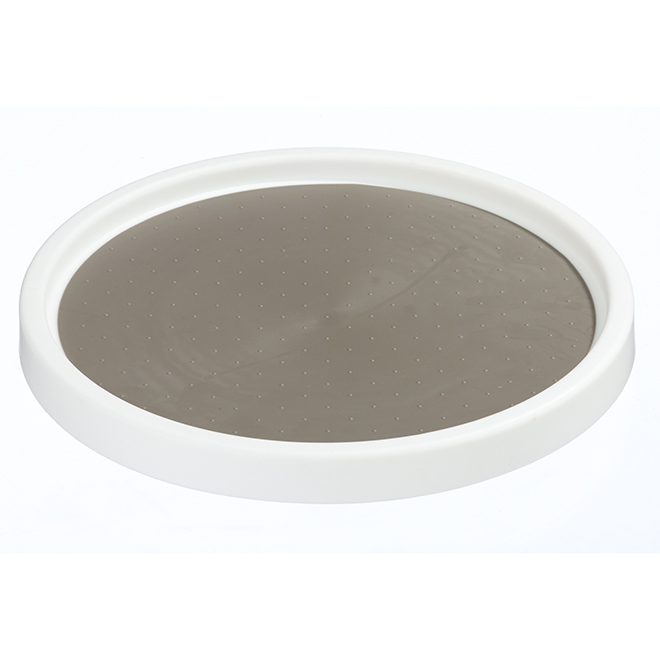 Turntable Lazy Susan - 10'' - Plastic - White