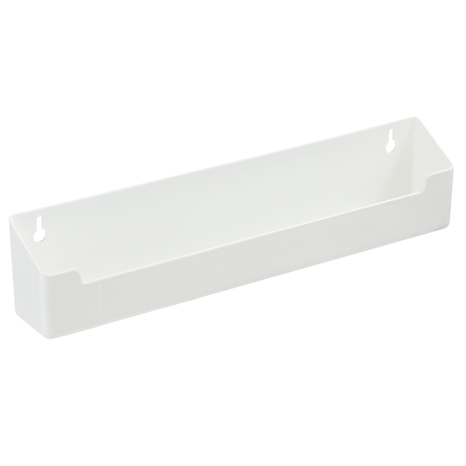 Sink Front Tray - 14'' - Plastic - White