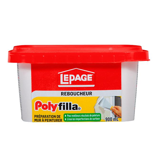 Composé préparation des murs Polyfilla LePage, 900 ml