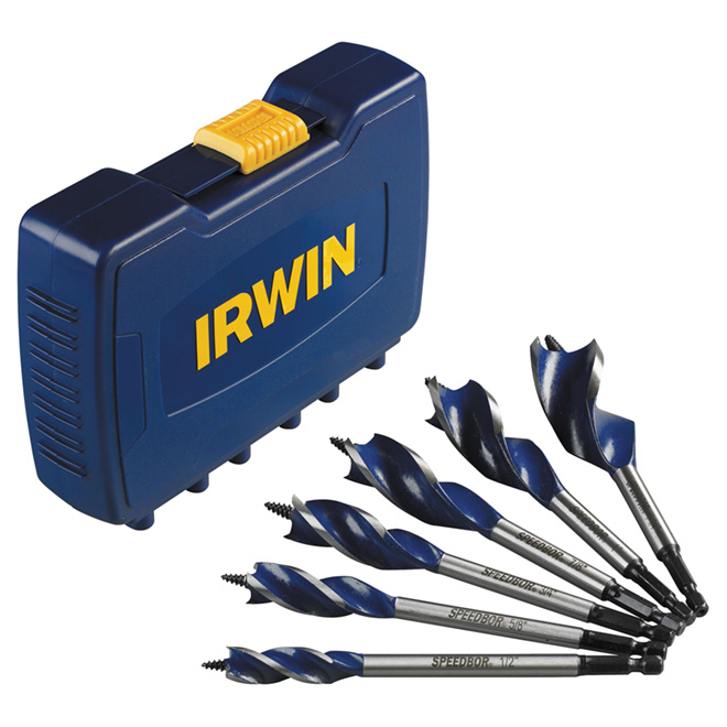 6-Piece Wood Drill Bit Set