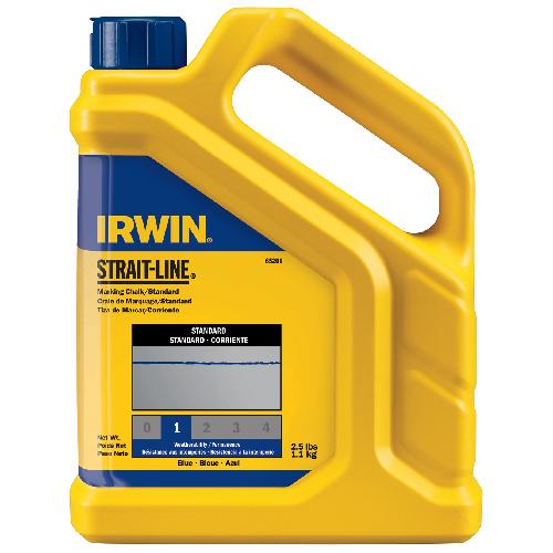 Remplacement de craie à cordeau Irwin, 2,5 lb, bleu