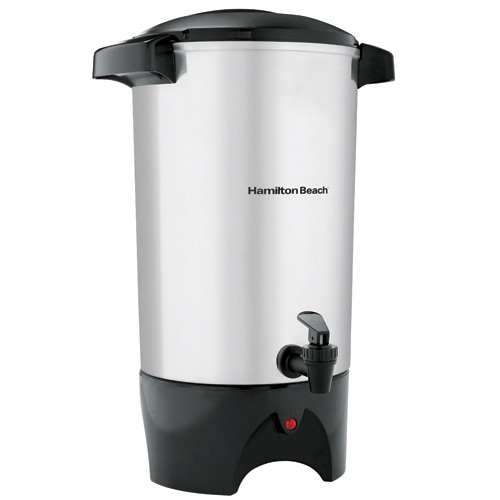 42-Cup Coffee Urn - Aluminum - 120 V