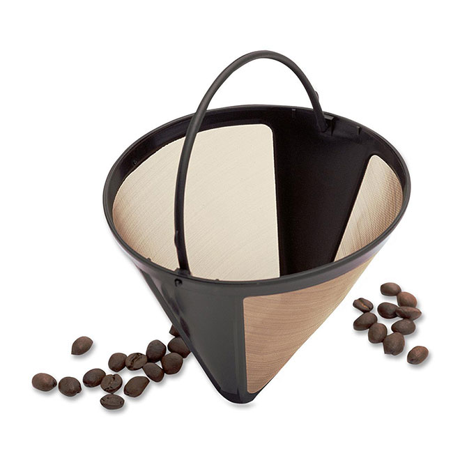Permanent Coffee Filter - 4 to 12 Cups - Plastic