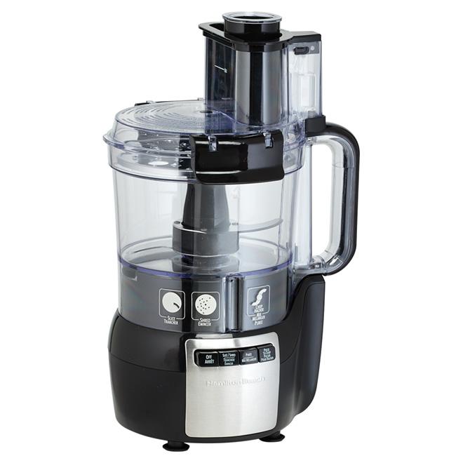 Food Processor - Stack & Snap - 10 Cup - Black