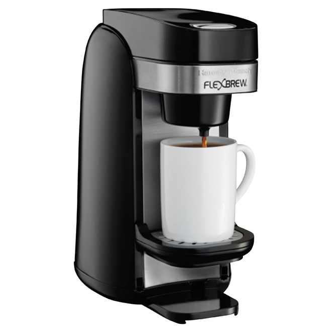 Single-Serve Coffee Maker - Flexbrew - Filter/Pods - 10 oz