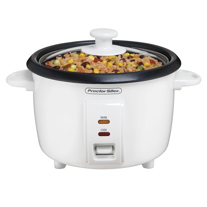 Rice Cooker - White- 8 Cups