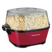 Hot Oil Popcorn Popper - Mettalic Red - 24 Cups