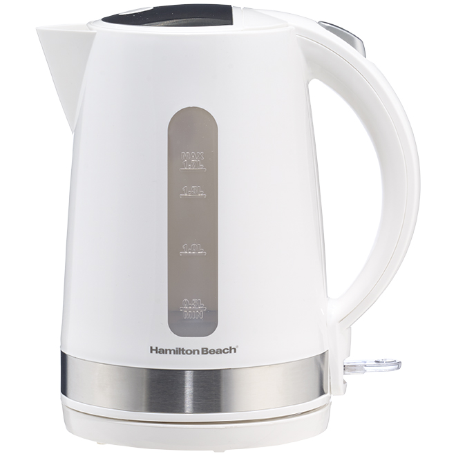 Electric Kettle - Cordless Base - 1.7 L - White