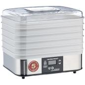 Food Dehydrator - Inox - 5 Trays - 500 W
