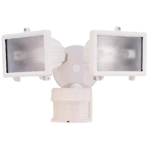 Weather lamp with motion sensor