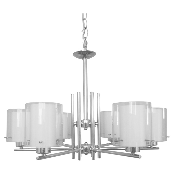 """Dominic"" 6-Light Pendant Light - 28"""