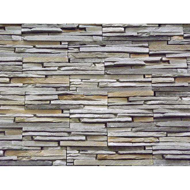Oslo Decorative Stone - Self-Adhesive - Grey