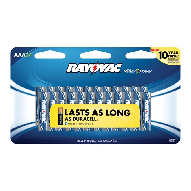 """AA"" Alkaline Batteries - 24 Pack"