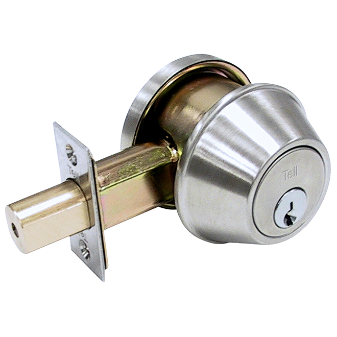 Deadbolt - Brass - Brushed Nickel