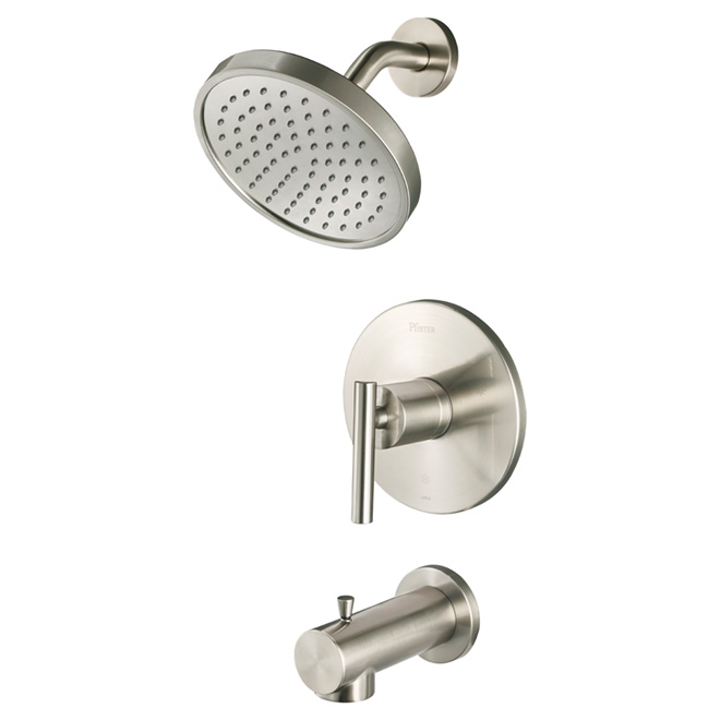 Fullerton 1-Lever Tub and Shower Faucet - Brushed Nickel