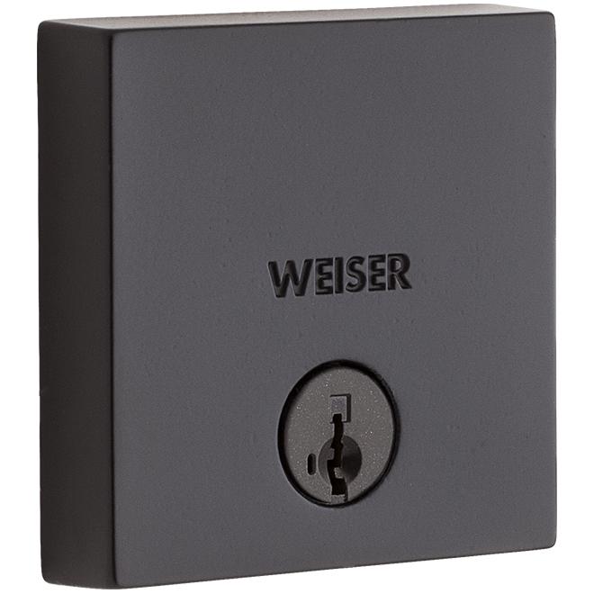 Weiser Deadbolt Lock - Downtown - Black