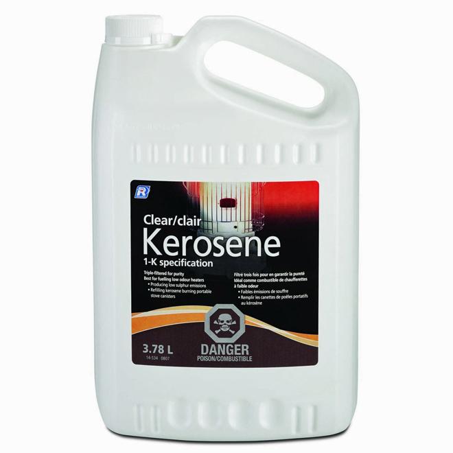 Clear kerosene
