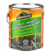 Préservatif pour bois «Cuivre II»