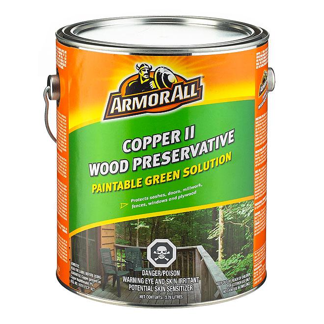 """Copper II"" Wood Preservative"