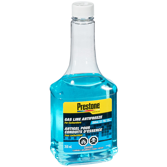 Gas Line Antifreeze for Carburetors - 350 mL