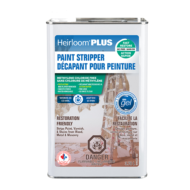 Heirloom Paint Stripper Plus - Semi-Gel - 3.78 L