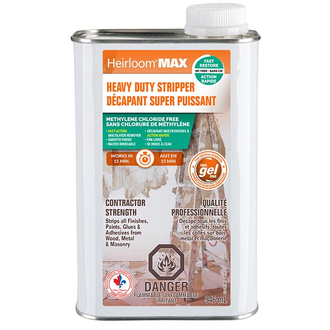 Décapant à peinture Heirloom Max, gel épais, 946 ml