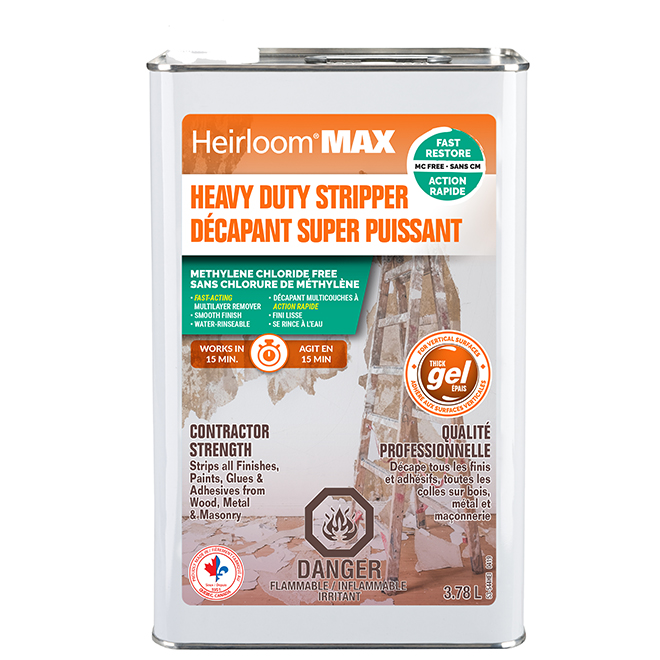 Heirloom Max Paint Stripped - Thick Gel - 3.78 L