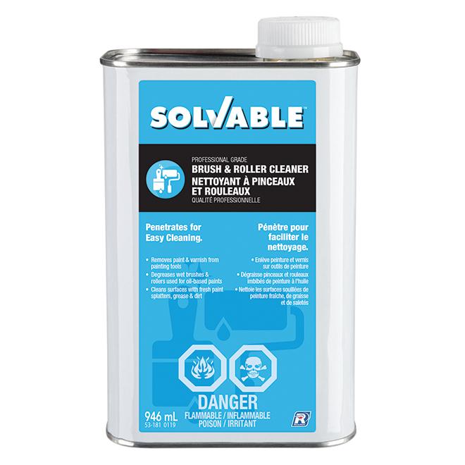 Solvable Brush and Roller Cleaner - 946 mL