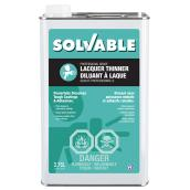 Solvable Lacquer Thinner - 3.78 L