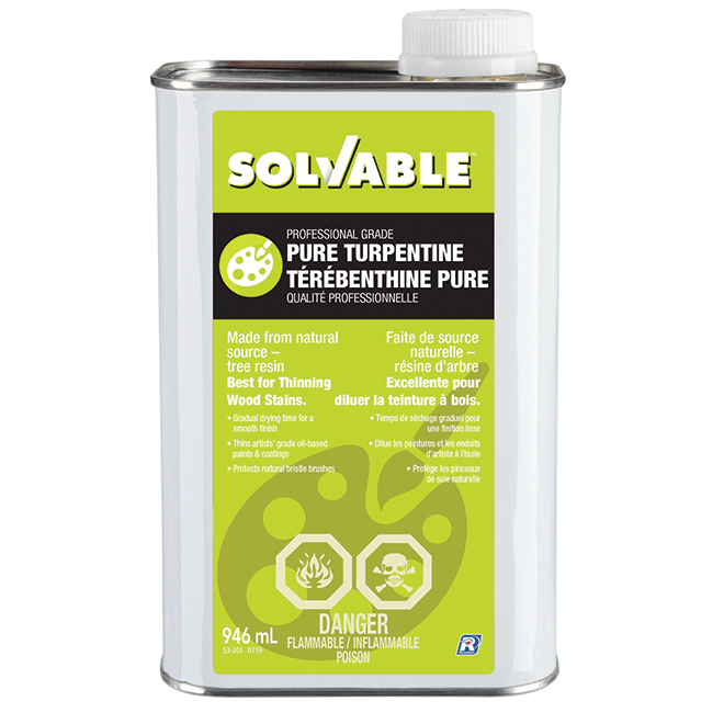 Solvable Pure Turpentine - 946 ml