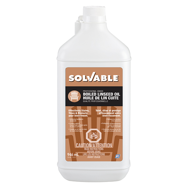 Boiled Linseed Oil - 946 mL