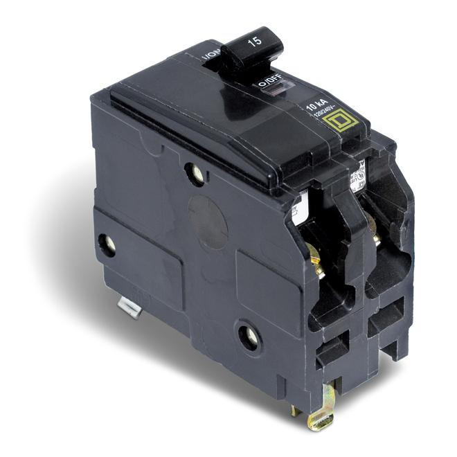 15-A 2P QO Circuit Breaker