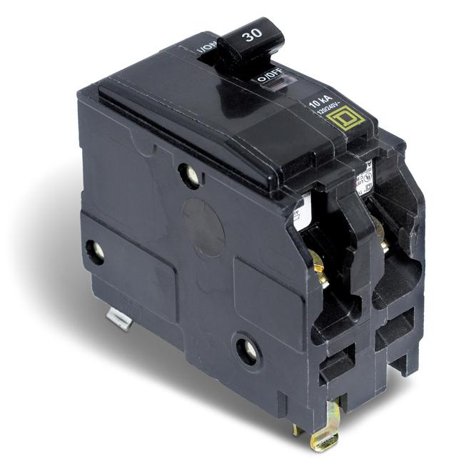 Disjoncteur (QO) 30 A 2P