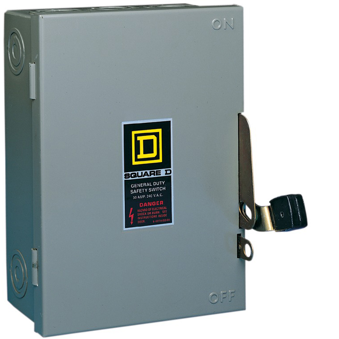 30-A Cartridge Safety Switch