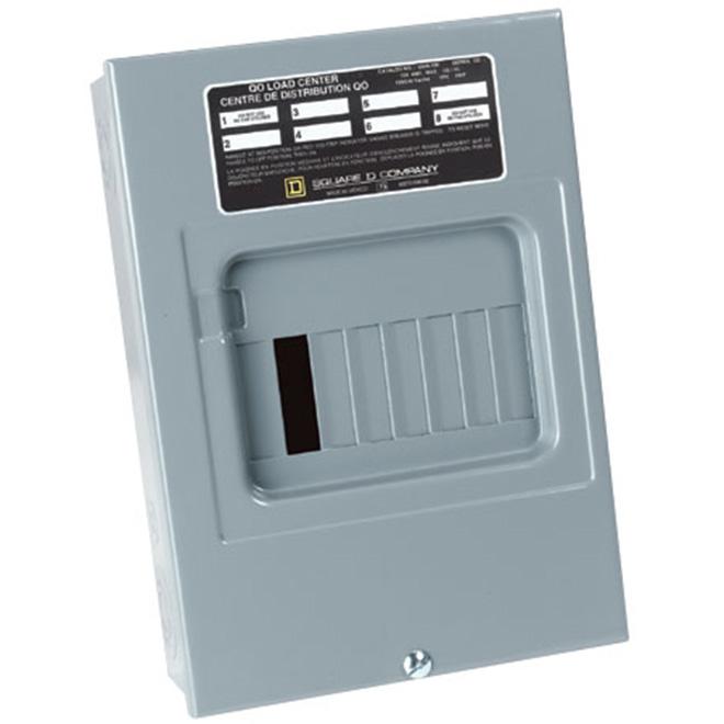6-Circuits Breaker Box