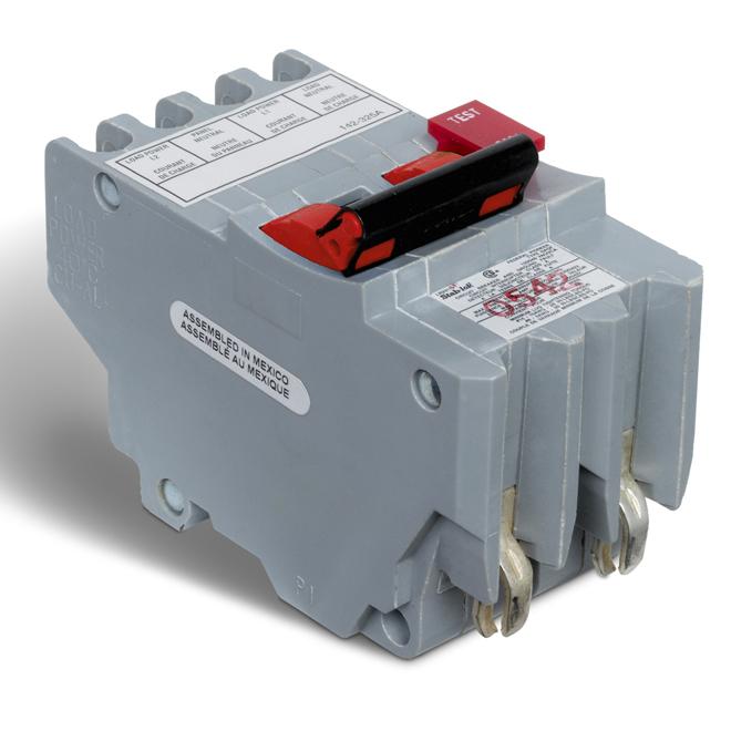 20-A 2P GFI Circuit Breaker