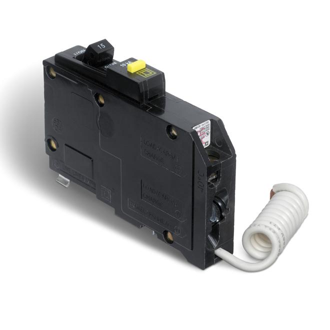 15-A 1P QO GFI Circuit Breaker
