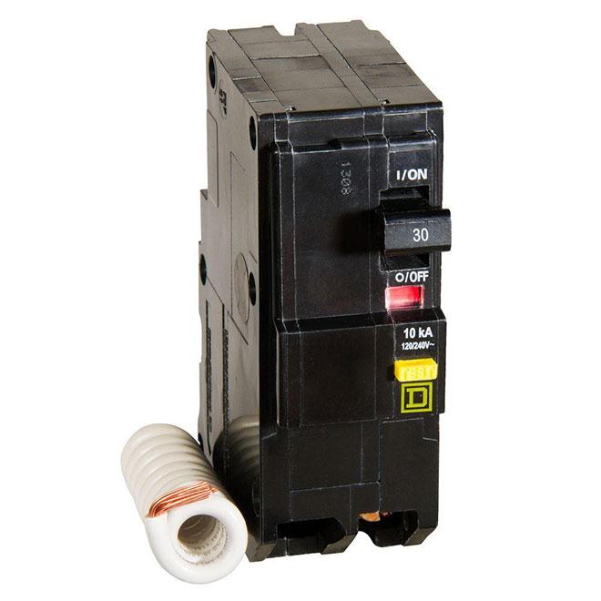 30A/2P QO GFI Circuit Breaker