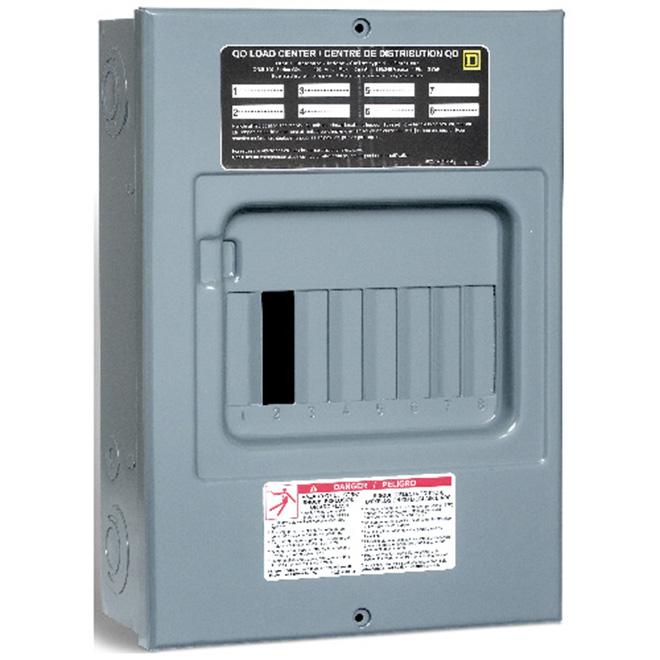 100A 8 Spaces/15 Circuit QO Sub Panel