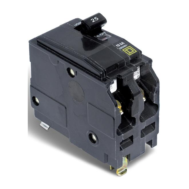 25A/2P QO Circuit Breaker
