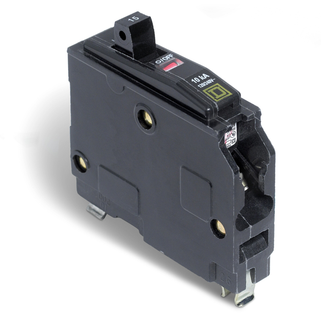 15A/1P QO HM Circuit Breaker