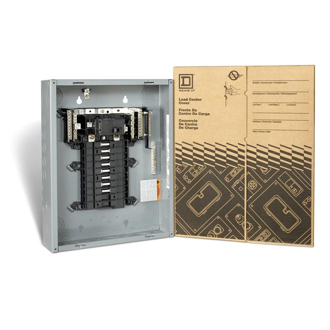 60A 16 Spaces/32 Circuit QO Main Breaker Panel