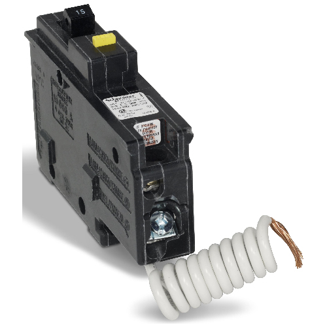 15A/1P CHOM GFI Circuit Breaker