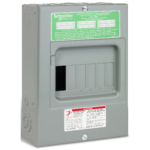 100A 6 Spaces/12 Circuit HomeLine Sub Panel