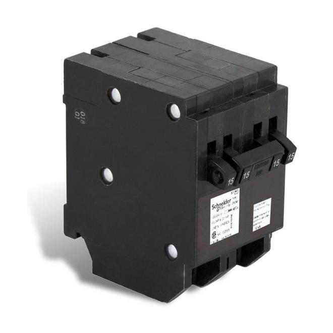 15/15A/1P - 15A/2P CHOM QUAD Circuit Breaker