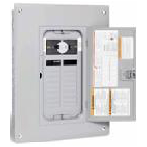 30A Square D Generator Panel with 18 Spaces/36 Circuits